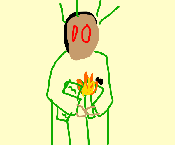 scp 173 as the statue of liberty