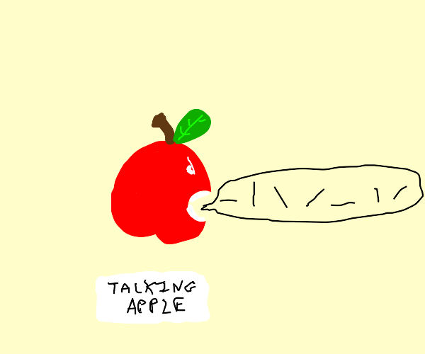 apple talks in the language of lines