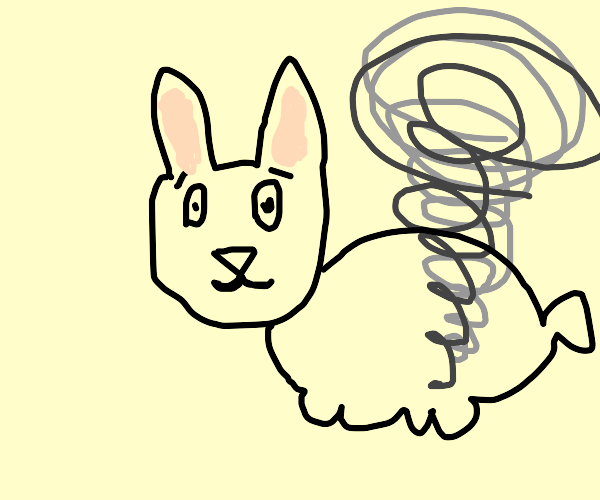 Rabbit in a Cyclone