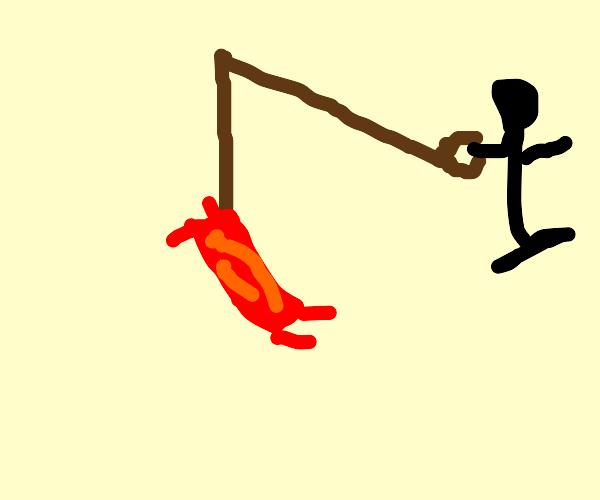 Bacon on a leash?