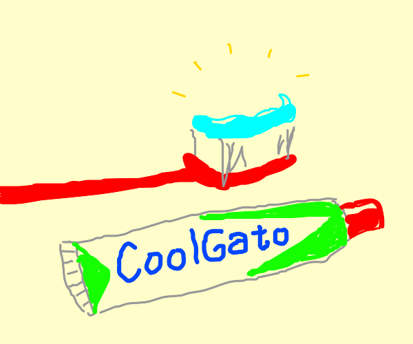 Picture of toothbrush with CoolGato