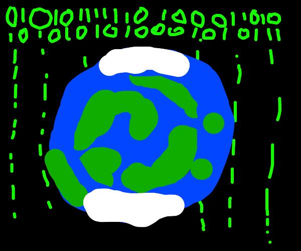 Earth in the Matrix