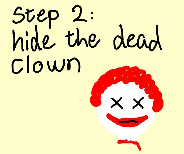 Step One: Kill a Clown
