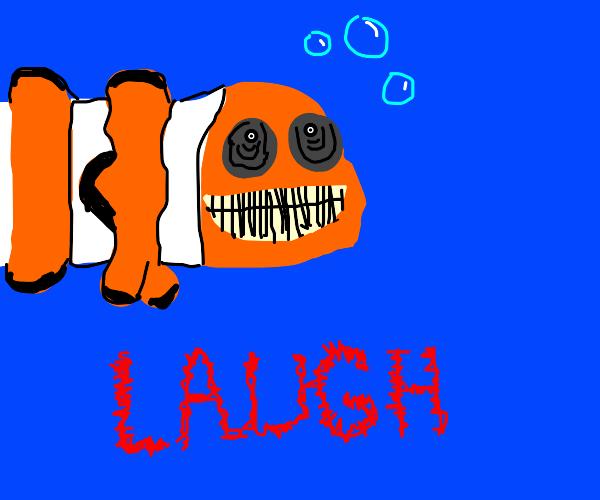 Haha funny fish