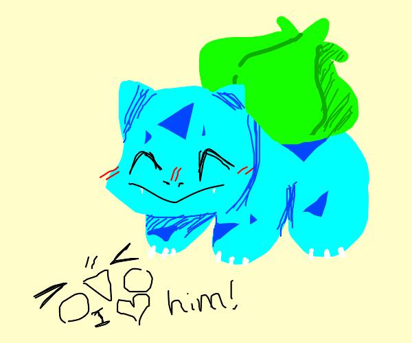 Happy Bulbasaur