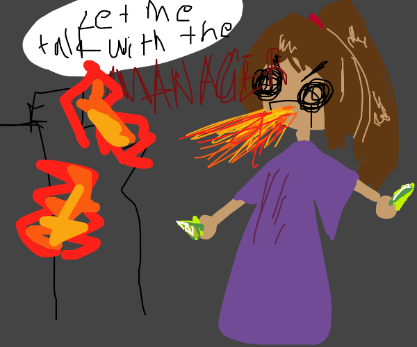 Karen destroys city with emeralds
