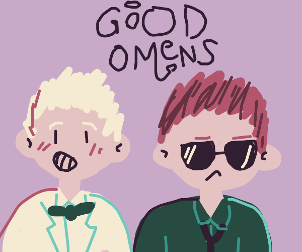 aziraphale & crowley from good omens