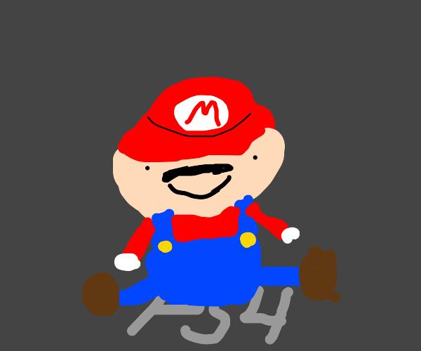 Mario on PS4