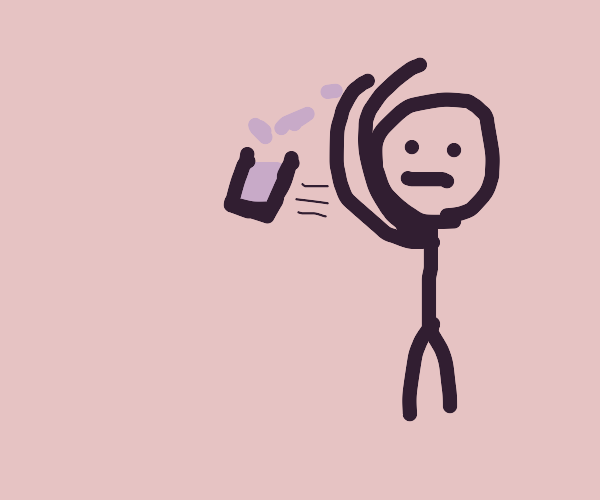 Throwing Water