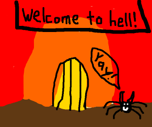 Tarantula Enjoying Hell