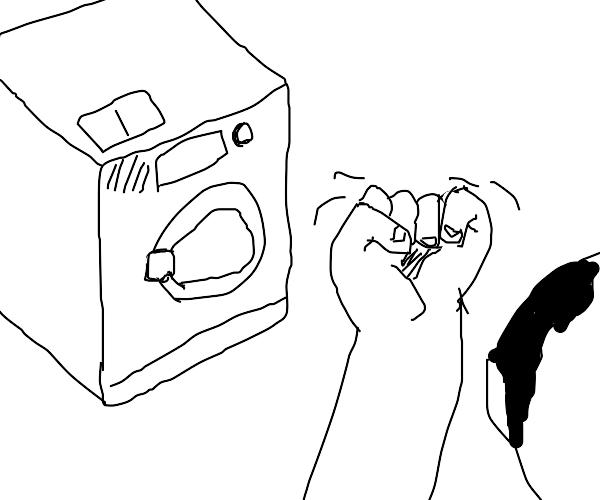 rage against the washing machine