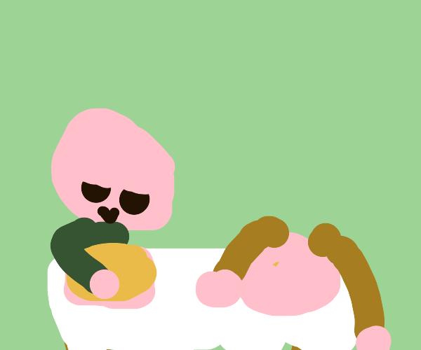 Pancake Eating Contest