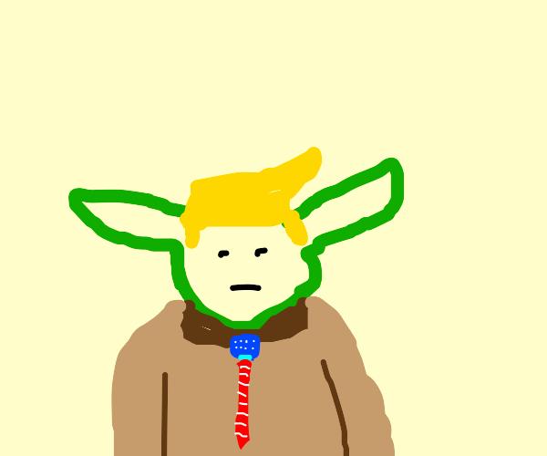 Trump yoda