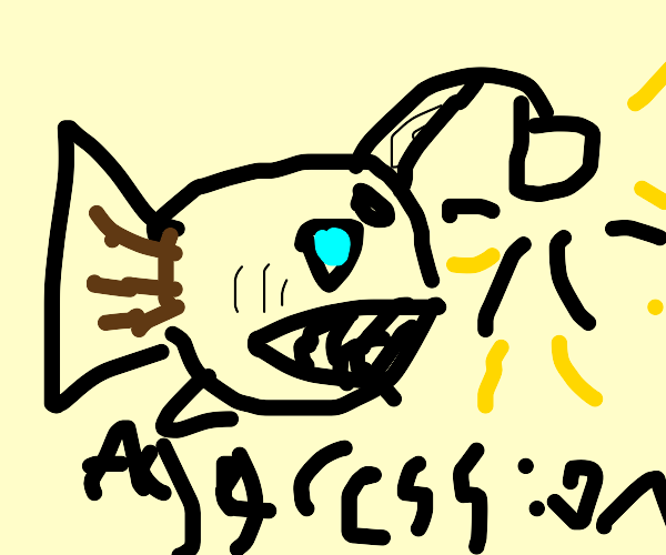 Aggressive Anglerfish