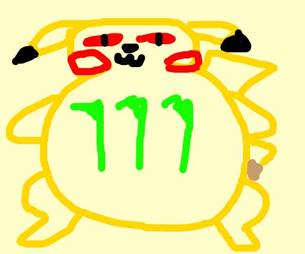 monster pikachu