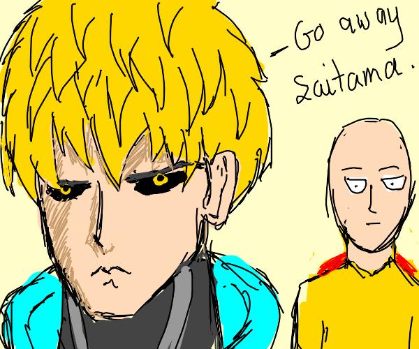 Robot hates Saitama