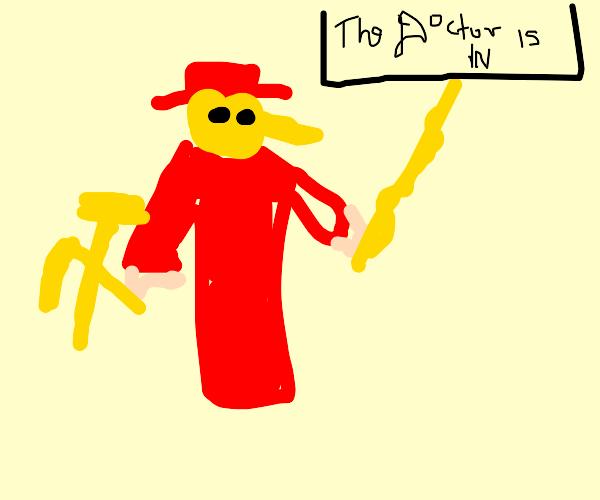 Communist Plague Doctor