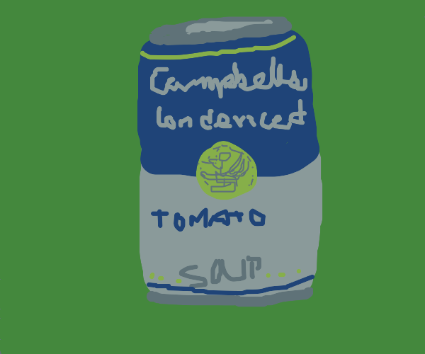 Andy Warhol: campbell's tomato soup