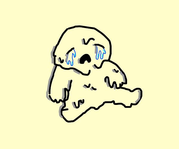 gooey baby cries