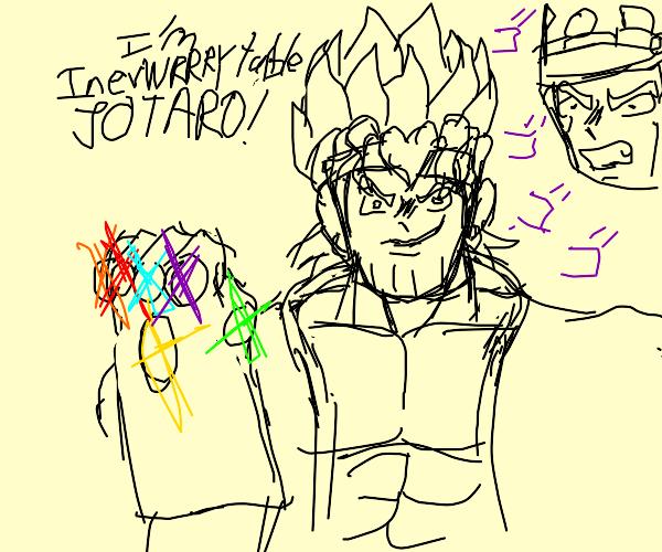 Dio, but Thanos