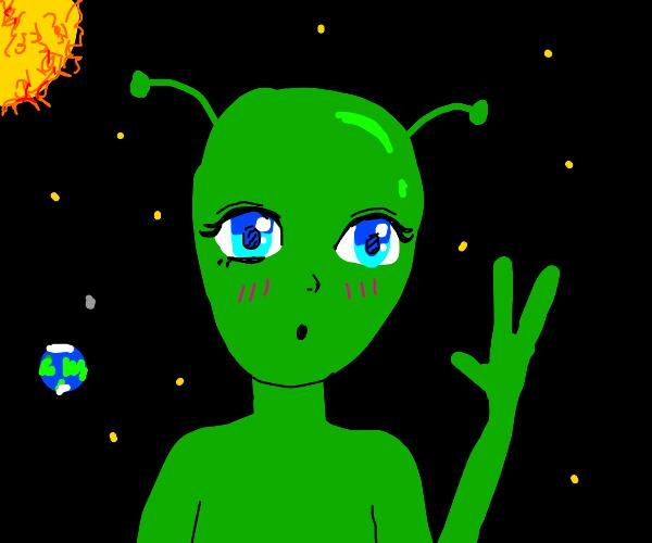 Anime alien
