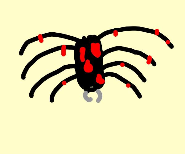 Big spiders bleeeeds