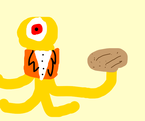 Yellow aliens disguise as lawyers and potato