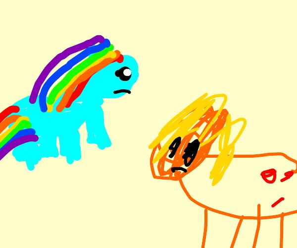 pony fight