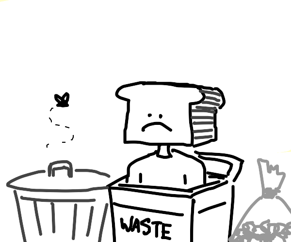 bread man is trash
