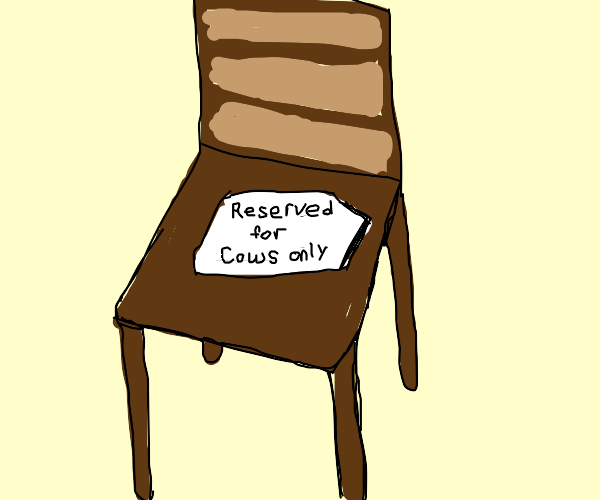 Chairs for cows