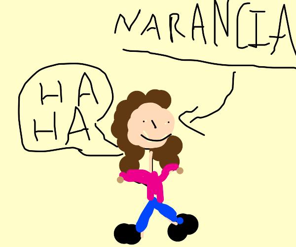 narancia is laughing