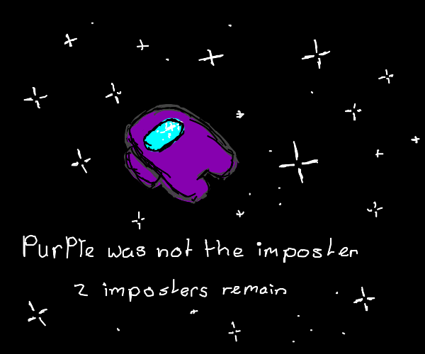 Purple was not the imposter