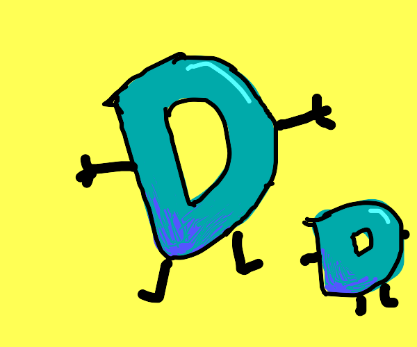 Drawception D is a proud father