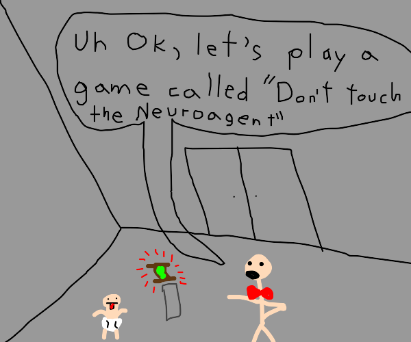 Lets play the game:don't touch the Neuroagent