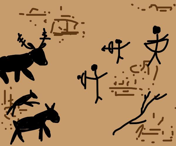 Cavemen art