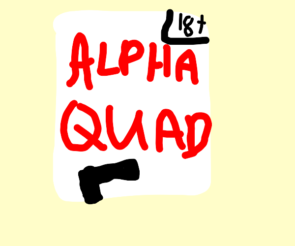 I want to create a game called [ ALPHA QUAD ]