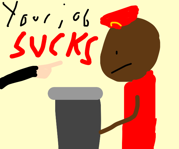 Your job sucks