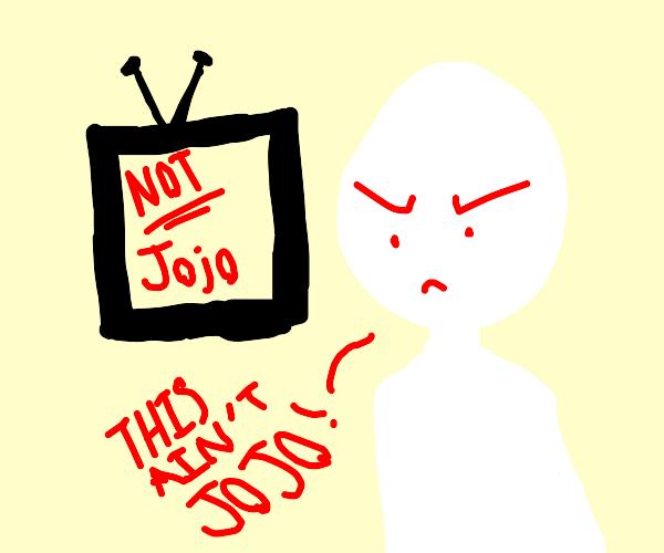jojo is not on tv