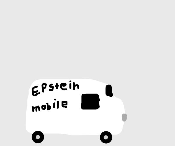 Where is the van?