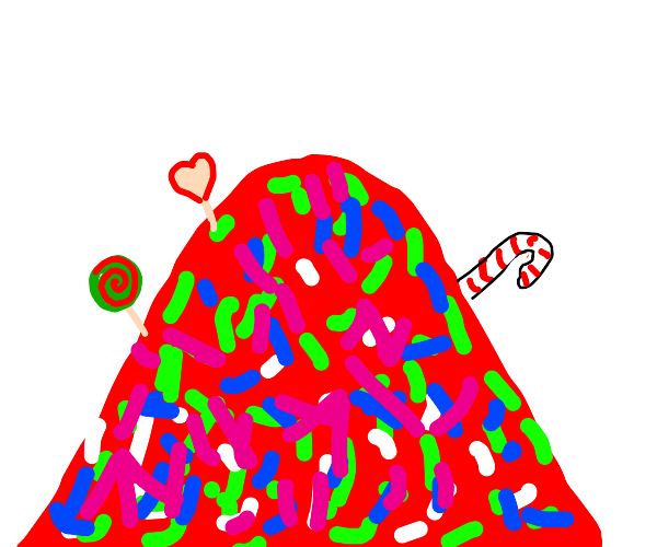 Mountain of Candy