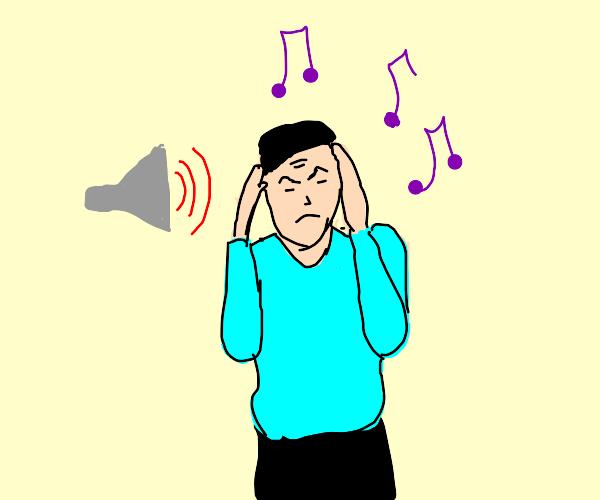 sound sensitive guy