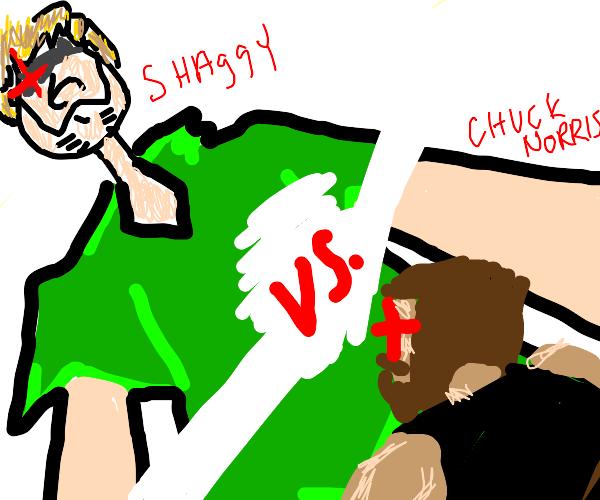 Shaggy vs. Chuck Norris