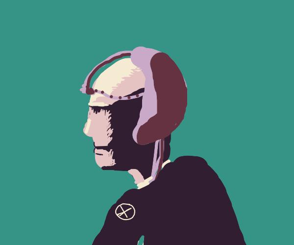 Professor X (Picard one) feeling blue