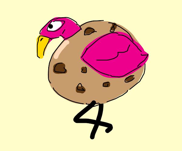 Cookie Flamingo