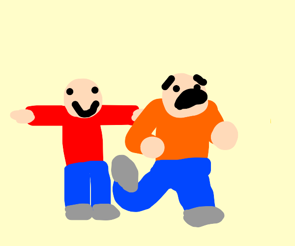 oh god oh no oh god he's t posing oh god help