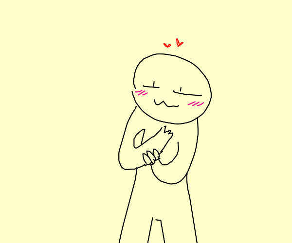 person holding their own arm lovingly