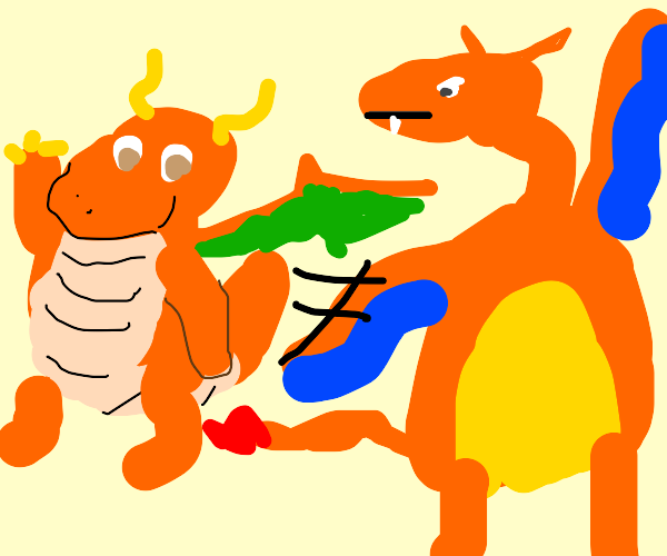 Dragonite is not a Charizard, okay guys?!