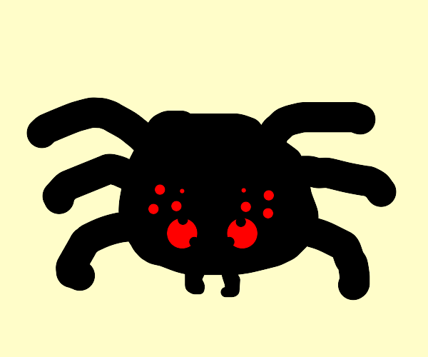 Spider with only 6 legs
