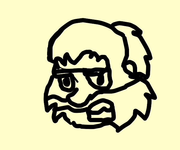Angry Hairy Face Dude that hates you