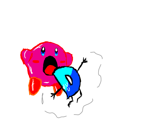 kirby consumes all of drawception